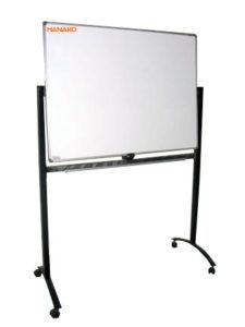 Jual Whiteboard Hanako 90x180 1 muka pakai kaki